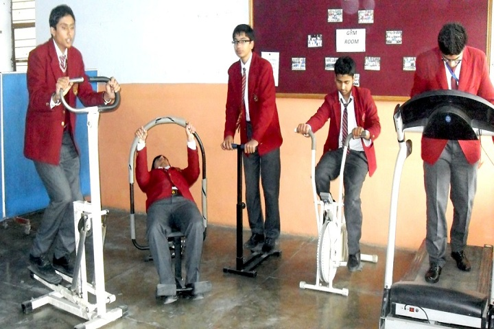 Dayanand Model School-Gym room