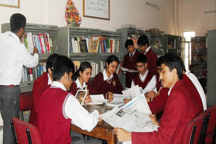 Dayanand Model School-Library