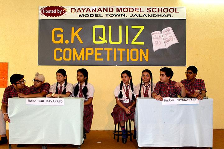 Dayanand Model School-Quiz