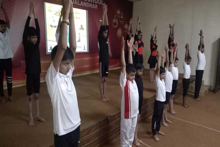 Dayanand Model School-Yoga