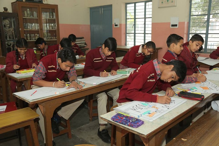 Dayanand Model Senior Secondary School-Classroom