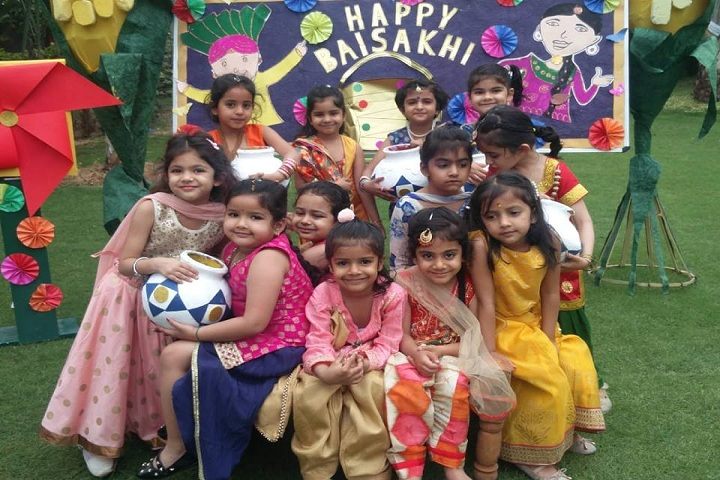 Delhi Public School- Baisaki Celebrations