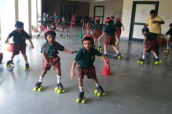 Delhi Public School- Skating