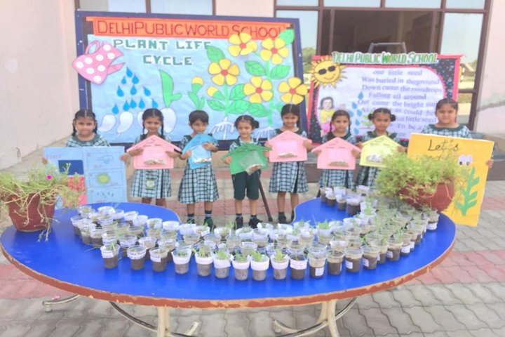 Delhi Public World School-Plantation Day