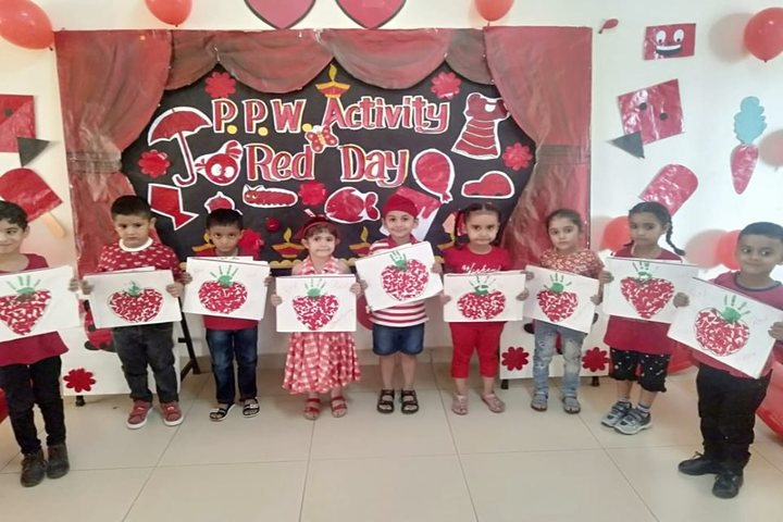 Delhi Public World School-Red Day