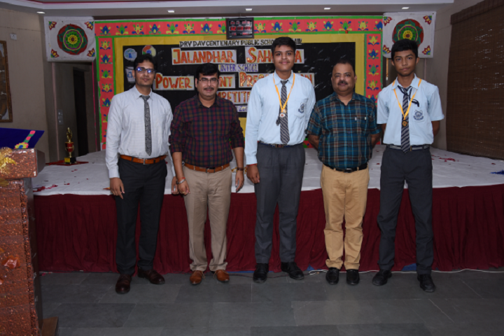 DRV DAV Centenary Public School- Medals Distribution