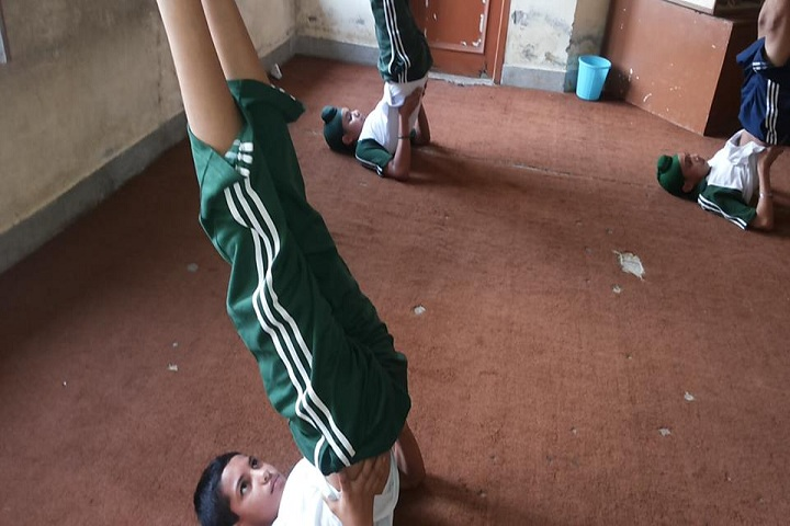 Dhilwan International Public School-Yoga
