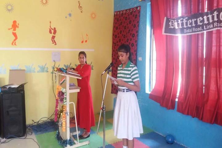 Different Convent School-Singing