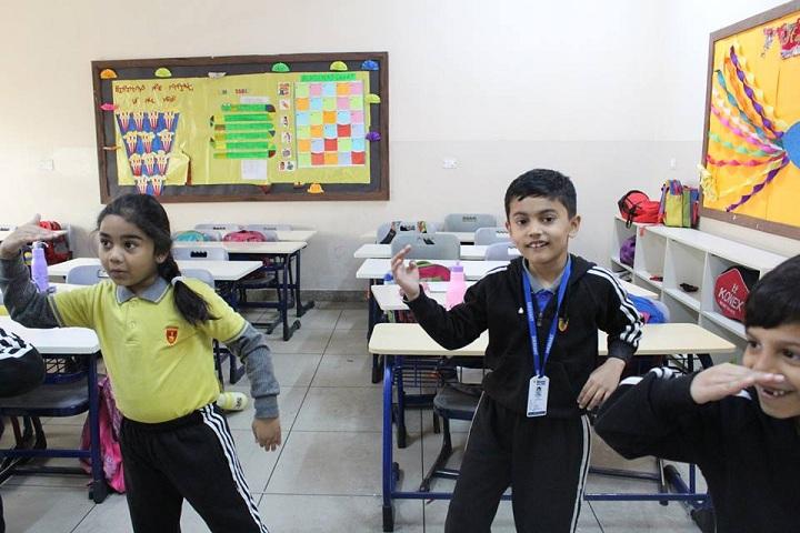 Dikshant Global School-Classrooms