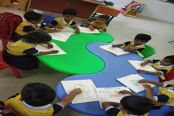 DIPS School-Art room