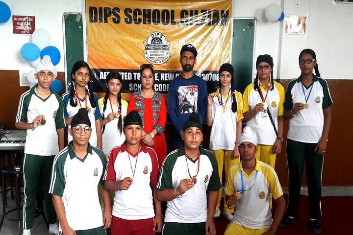 DIPS School-Medals