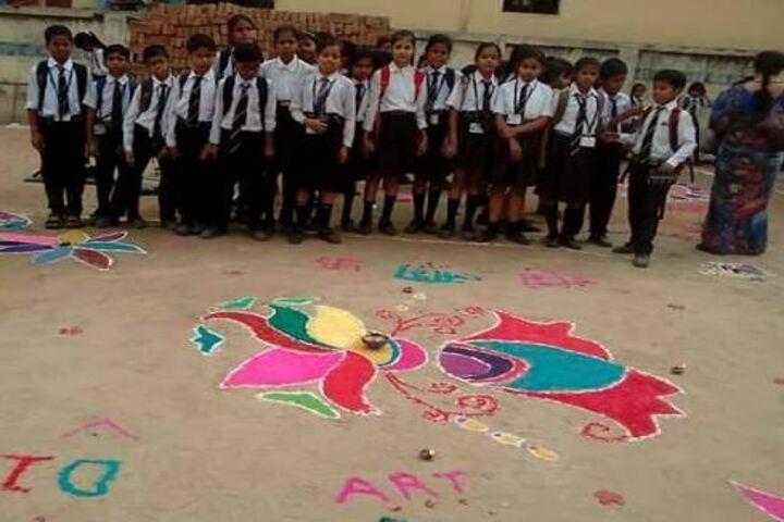 Himalayan Public School-Rangoli