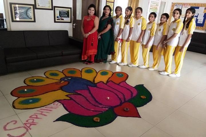 DIPS School-Rangoli