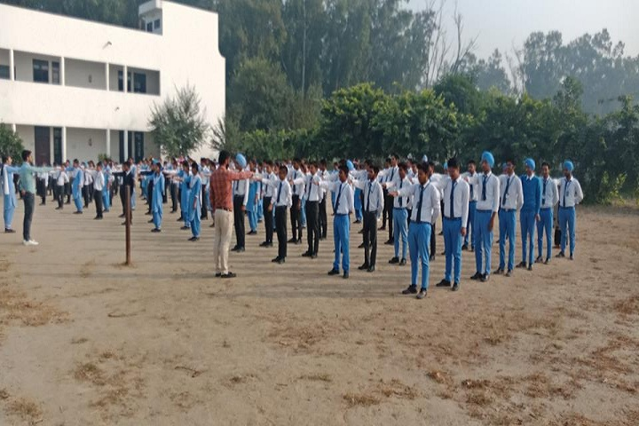 Divine Mata Gujri Public School-Assembly