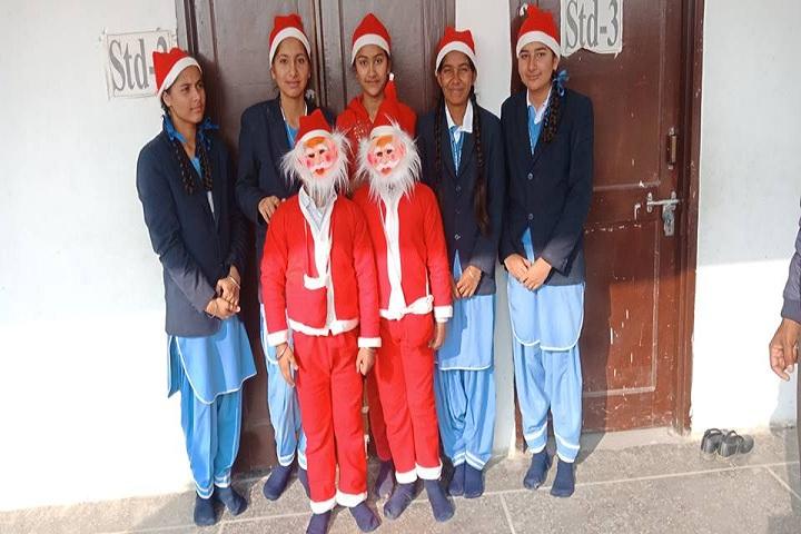 Divine Mata Gujri Public School-Christmas Celebration
