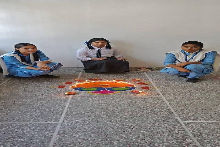 Divine Mata Gujri Public School-Diwali Celebration