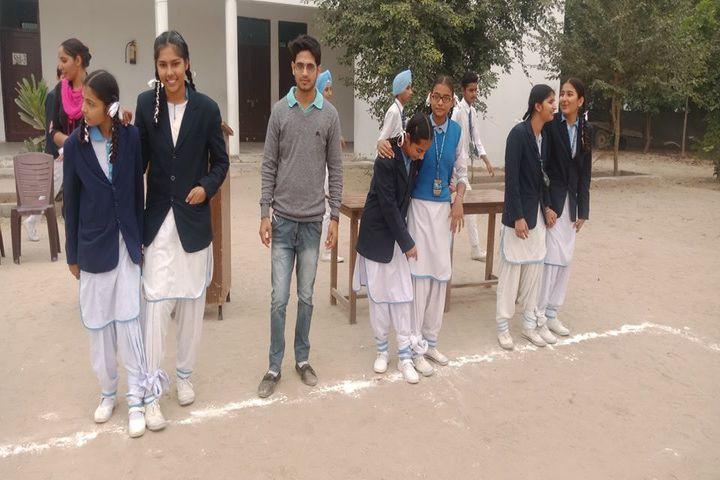 Divine Mata Gujri Public School-Sports day