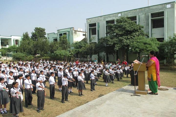 Divine Public School-Assembly