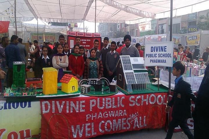 Divine Public School-Science Exhibition
