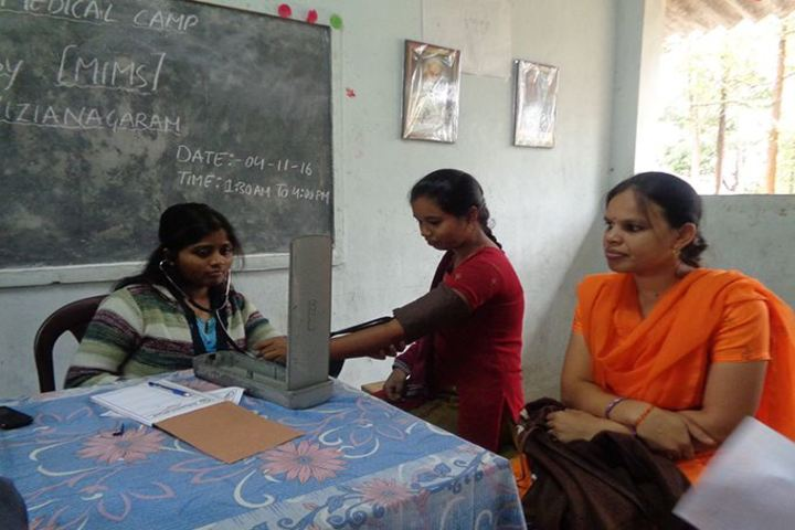 Alluri Sitaramaraju Public School-Medical Checkup
