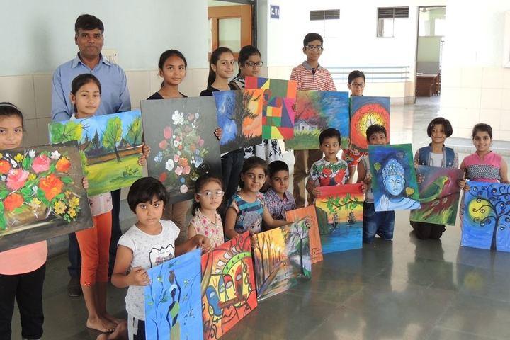 Don Bosco Senior Secondary School-Painting