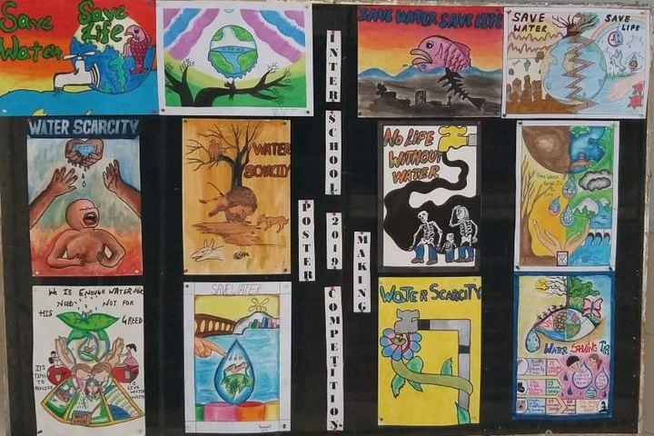 Don Bosco Senior Secondary School-Poster Making