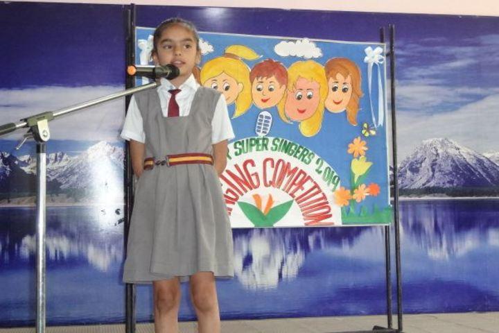 Don Bosco Senior Secondary School-Singing Competetion