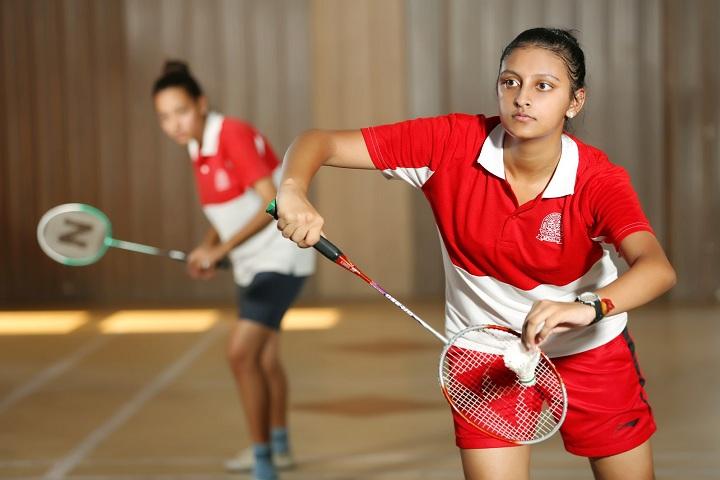 Doon International School-Badminton