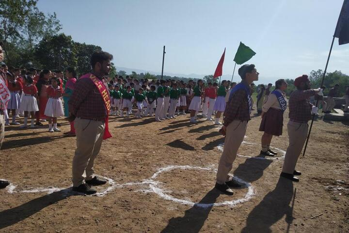 Dr MCM DAV Public School-Sports day