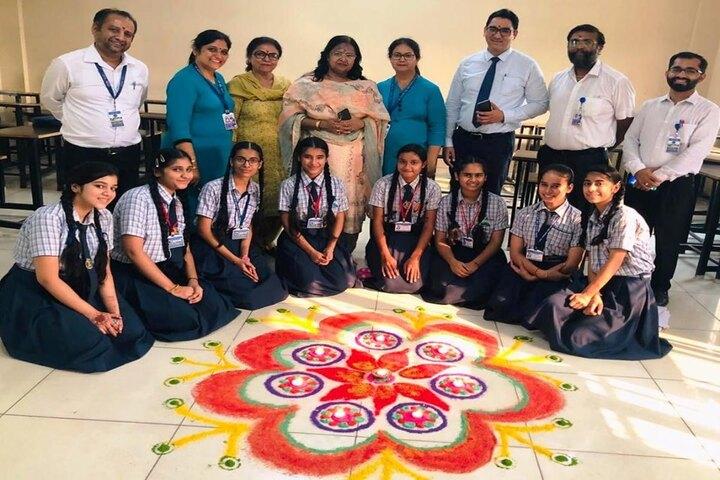 Dr Saif-Ud-Din Kitchlu Memorial Public School-Rangoli
