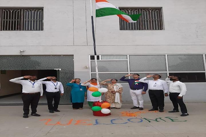 Dr Saif-Ud-Din Kitchlu Memorial Public School-Republic day