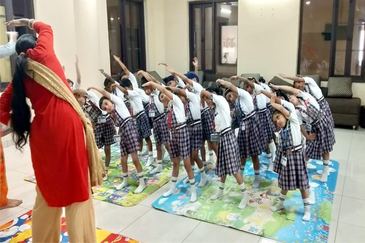 Dr Saif-Ud-Din Kitchlu Memorial Public School-Yoga