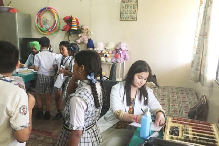 East Wood International School-Medical Camp
