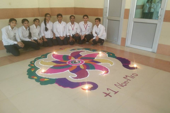 Ekam Public School-Diwali Celebrations