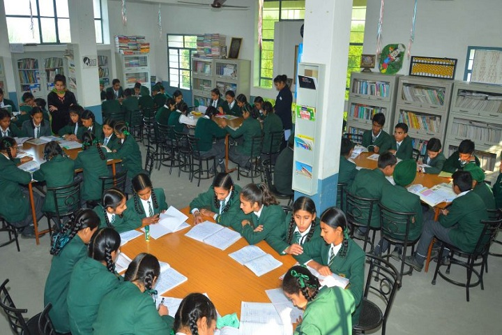 EMM AAR International School-Library