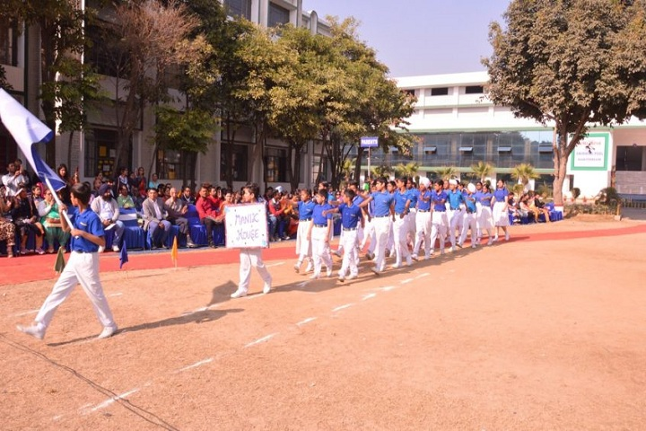 EMM AAR International School-March Past