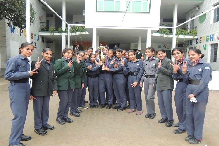 EMM AAR International School-NCC
