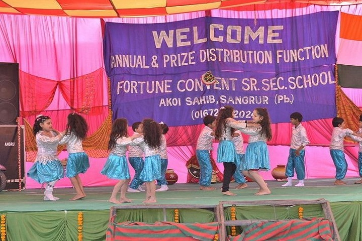 Fortune Convent Senior Secondary School-Dance