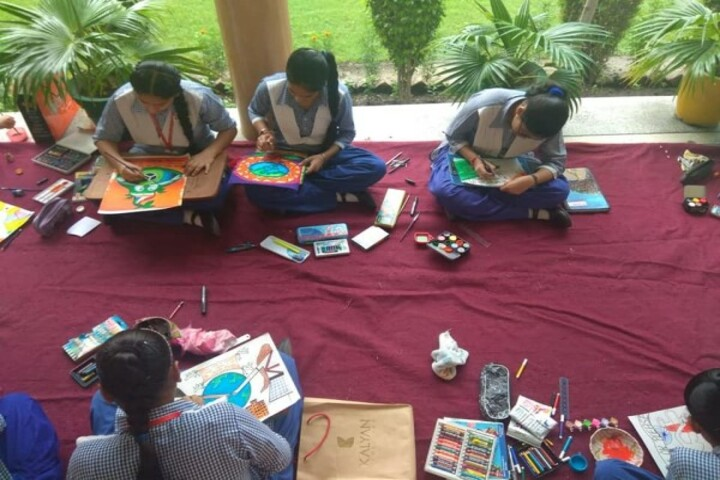 G M T Public School-Drawing Competition