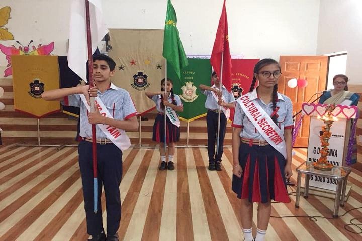 G D Goenka Public School-Investiture Ceremony