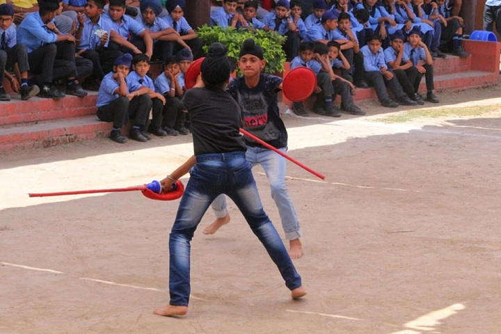 G D Goenka Public School-Gatka Competition