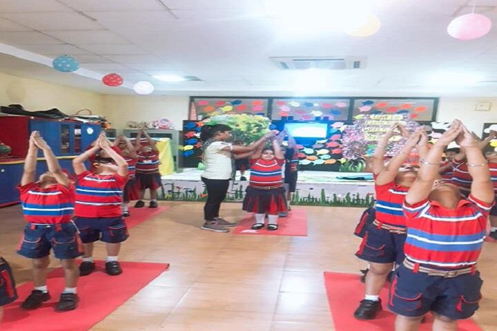 G D Goenka Public School-Yoga Class