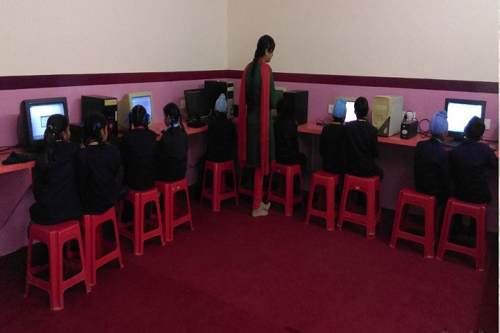 G.S.PublicSenior Secondary School-IT Lab