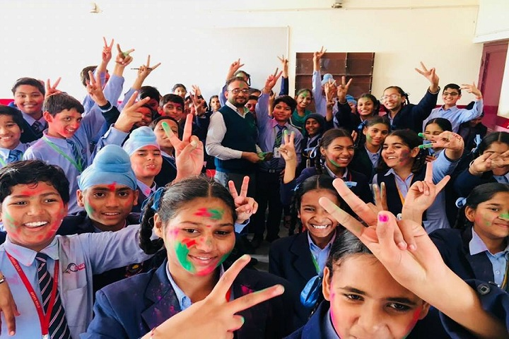G.S.Public Senior Secondary School-Holi Celebrations