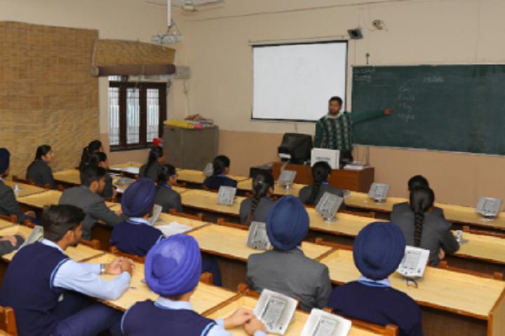 Ganga International School-Classroom smart
