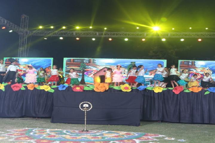 Ganga International School-Events dance