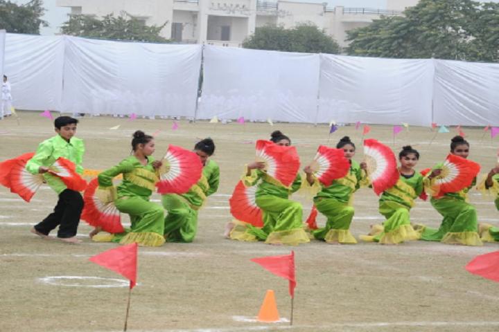 Ganga International School-Events sports meet programme