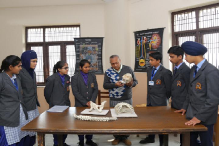 Ganga International School-Laboratory biology
