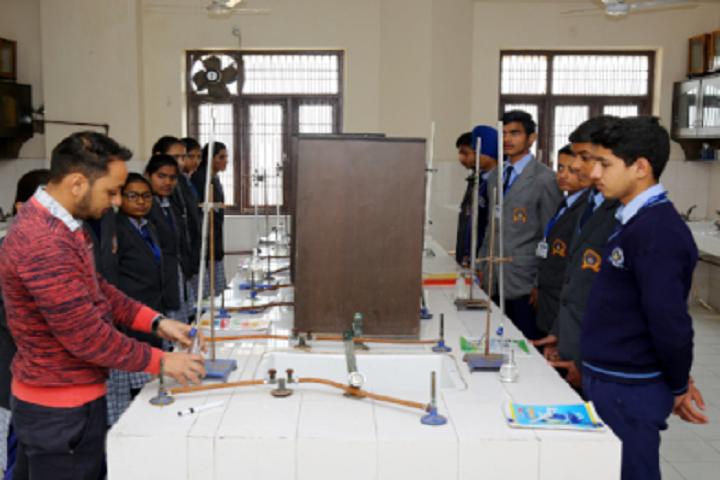 Ganga International School-Chemistry Laboratory