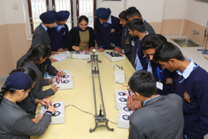Ganga International School-Physics Laboratory